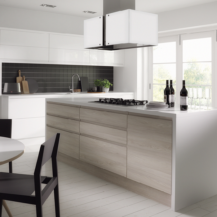Kitchen Cabinets Handleless: Trend